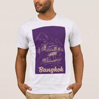 Bangkok, Thailand travel poster T-Shirt