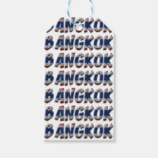 Bangkok Thailand Typography Elegant Text Only Gift Tags