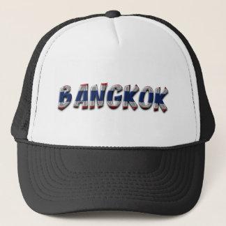 Bangkok Thailand Typography Elegant Text Only Trucker Hat