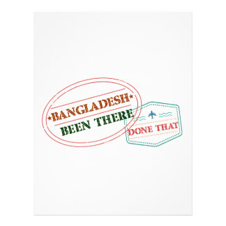 Bangladesh Been There Done That Letterhead