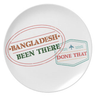 Bangladesh Been There Done That Party Plates