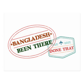 Bangladesh Been There Done That Postcard