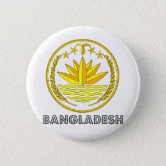 Bangladesh Coat of Arms 2 Inch Round Button