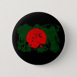Bangladesh Flag 2 Inch Round Button