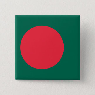 Bangladesh Flag 2 Inch Square Button