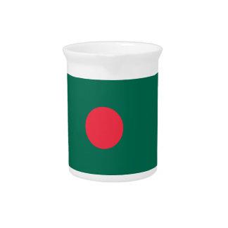 Bangladesh Flag Beverage Pitchers