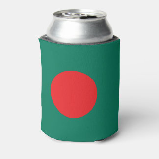 Bangladesh flag can cooler
