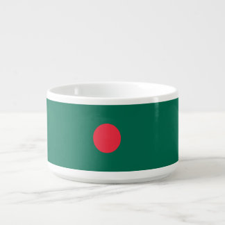 Bangladesh Flag Chili Bowl