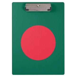 Bangladesh Flag Clipboard