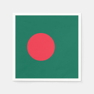 Bangladesh Flag Disposable Napkins