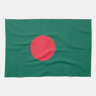Bangladesh Flag Kitchen Towels