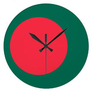 Bangladesh Flag Large Clock