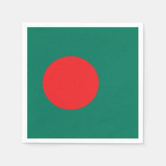 Bangladesh flag paper napkins