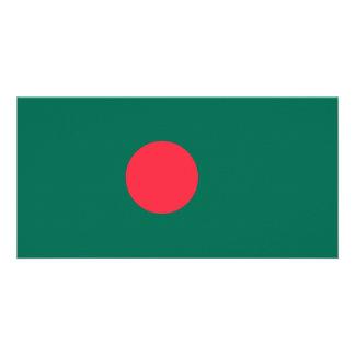 Bangladesh Flag Photo Greeting Card