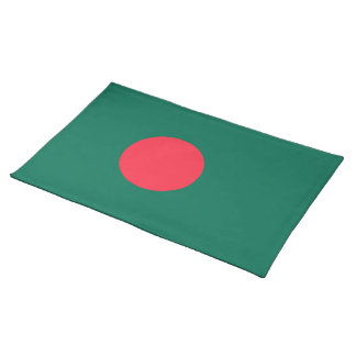 Bangladesh Flag Place Mat
