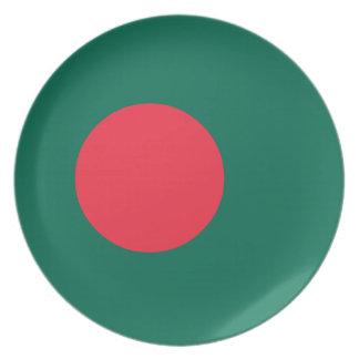 Bangladesh Flag Plate