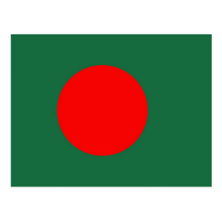 Bangladesh Flag Postcard