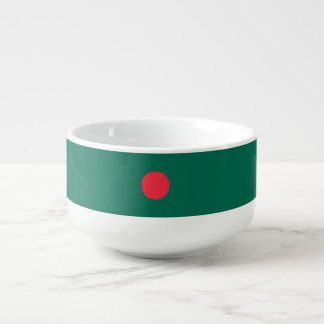 Bangladesh Flag Soup Mug