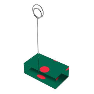 Bangladesh Flag Table Card Holder