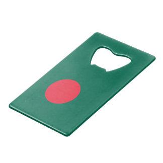 Bangladesh Flag Wallet Bottle Opener