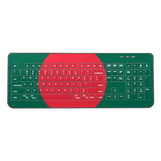 Bangladesh Flag Wireless Keyboard