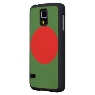 Bangladesh Flag Maple Galaxy S5 Slim Case