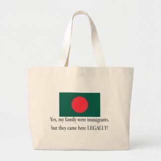 Bangladesh Jumbo Tote Bag