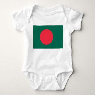Bangladesh National World Flag Baby Bodysuit