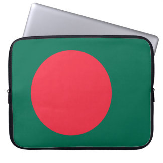 Bangladesh National World Flag Laptop Sleeve