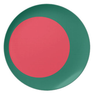 Bangladesh National World Flag Plates