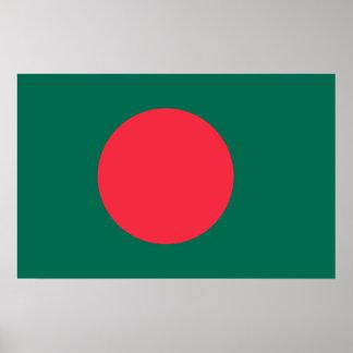 Bangladesh National World Flag Poster