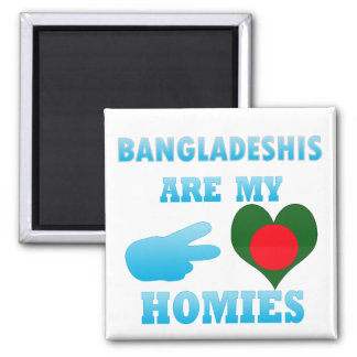 Bangladeshis are my Homies Square Magnet