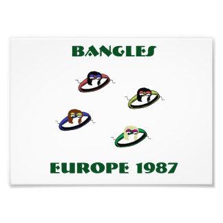 Bangles Europe 1987 Print