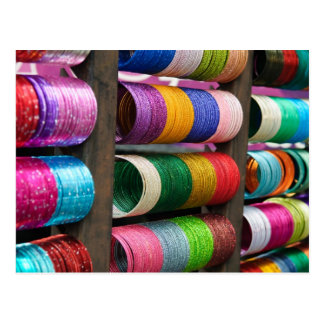 Bangles for Sale in India Postcard