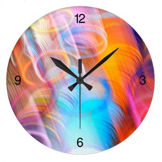 """Bangles To The Future"" Clock"