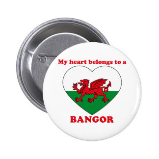 Bangor 2 Inch Round Button