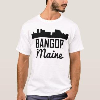 Bangor Maine Skyline T-Shirt