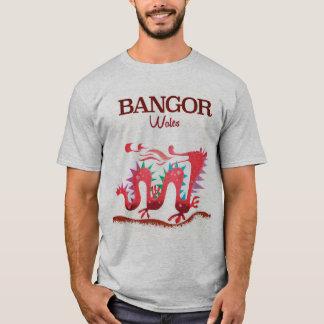 Bangor Wales Dragon poster T-Shirt