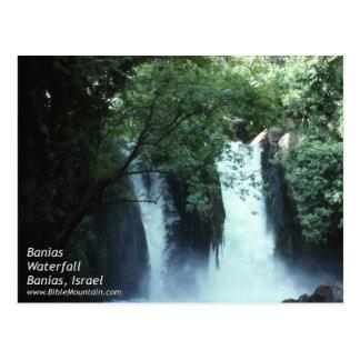 Banias Waterfall Postcard