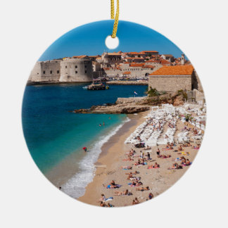 Banje Beach Ceramic Ornament