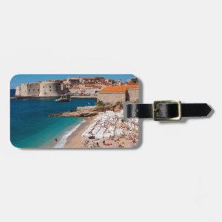 Banje Beach Luggage Tag