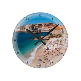 Banje Beach Round Clock