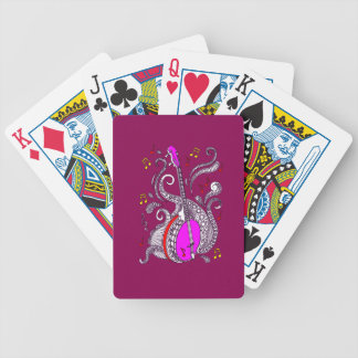 Banjo Bicycle Playing Cards