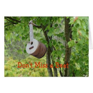 Banjo Birdhouse - customize any occasion Card