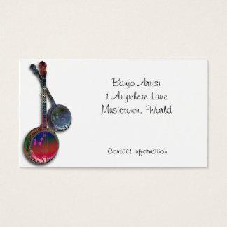 Banjo Business Card