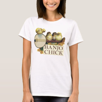 Banjo Chick Ladies Spaghetti Top (Fitted)