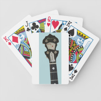 Banjo Custom Montalbano Bicycle Playing Cards