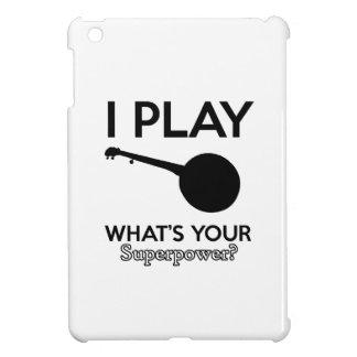 banjo design iPad mini cover