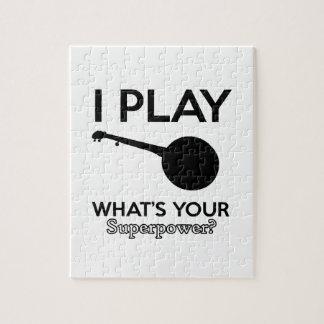banjo design puzzles