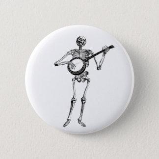 banjo dude 2 inch round button